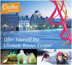 Quebec City tourism ad