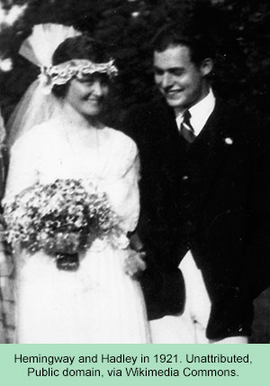 Hemingway wedding