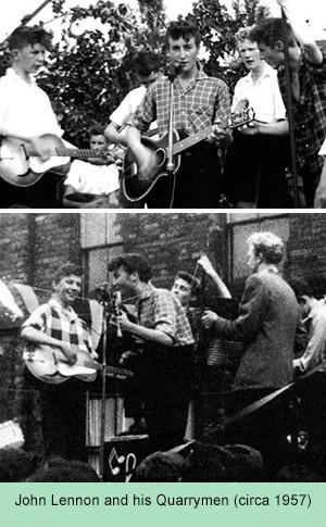 John Lennon and his Quarrymen