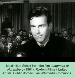 scene from 'Judgment at Nuremberg'