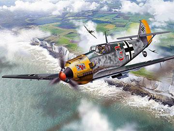 Luftwaffe Messerschmitt 109 fighter