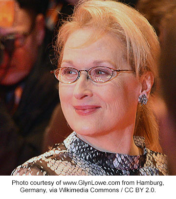 Meryl Streep in 2016