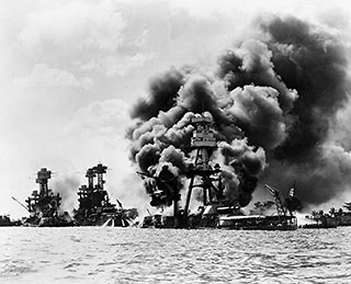 Pearl Harbor, Dec. 7, 1941