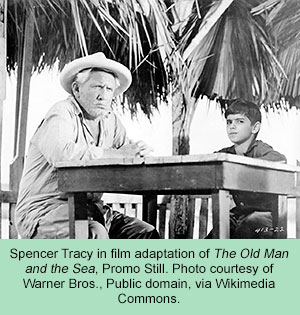 promotional still from 'The Old Man and the Sea'