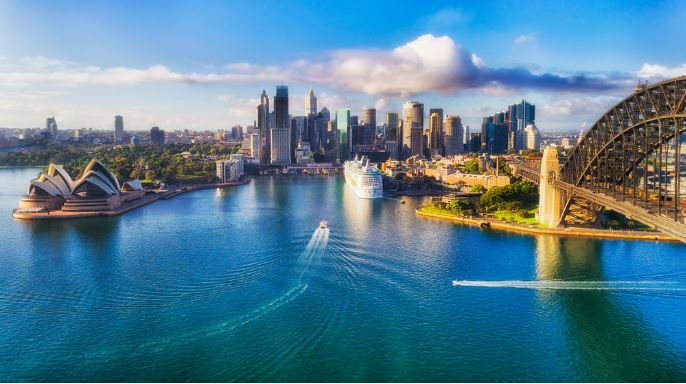 Arriving-Sydney