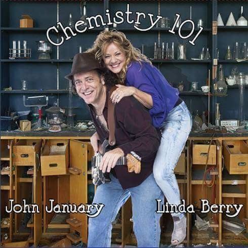 CD cover of Chemistry 101, John January's and Linda Berry's latest release