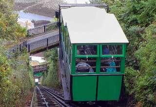 railway car of the Lynton & Lynmouth Cliff Railway