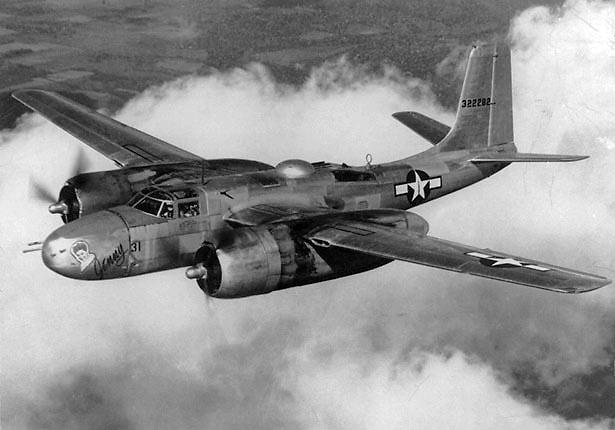 Douglas A26 Invader attack bomber