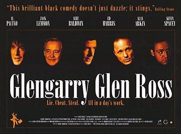 poster for the movie Glengarry Glen Ross