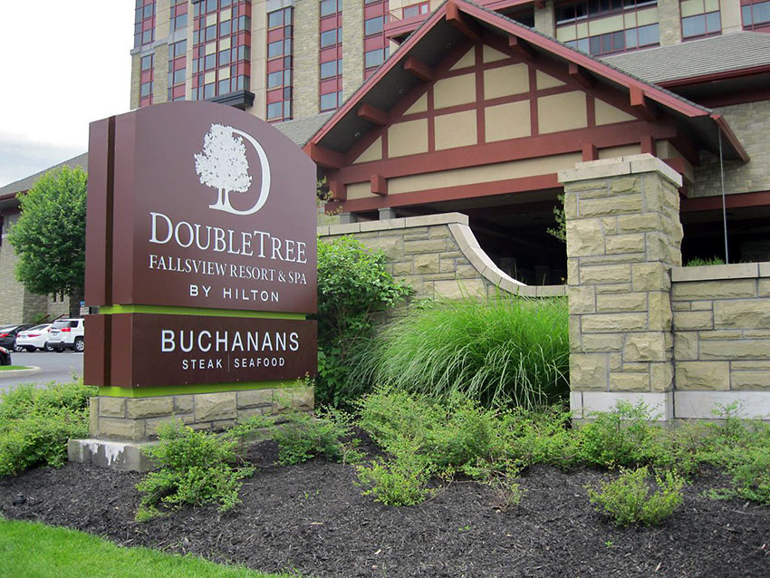 the Double Tree Fallsview Resort and Spa by Hilton