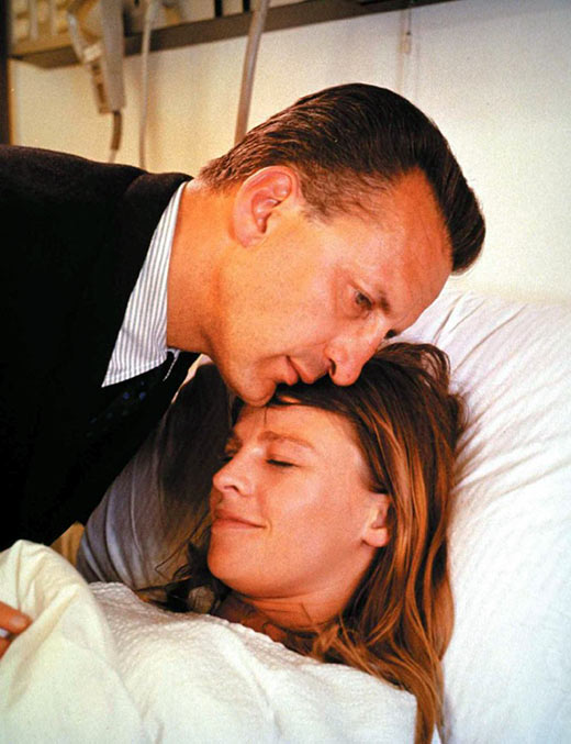 George Scott and Julie Christie in a scene from Petulia