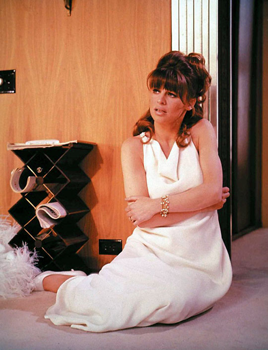 Julie Christie in a scene from Petulia