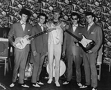 Ringo Starr with Rory Storm and the Hurricanes