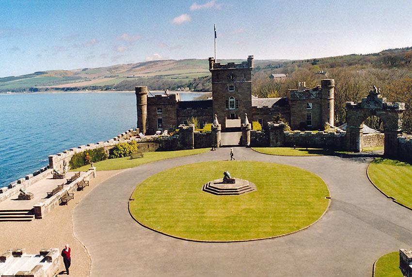 Culzean Castle courtyard