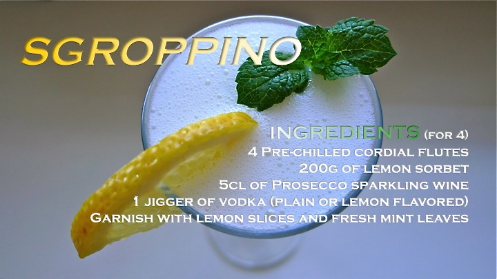 Sgroppino recipe