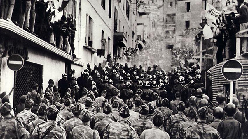 The Battle of Algiers scene 1