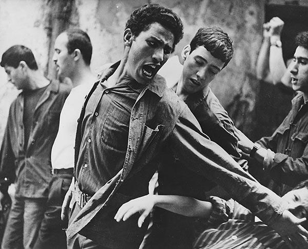 The Battle of Algiers scene 2
