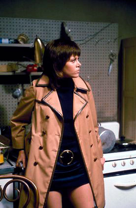 Jane Fonda in a scene from Klute