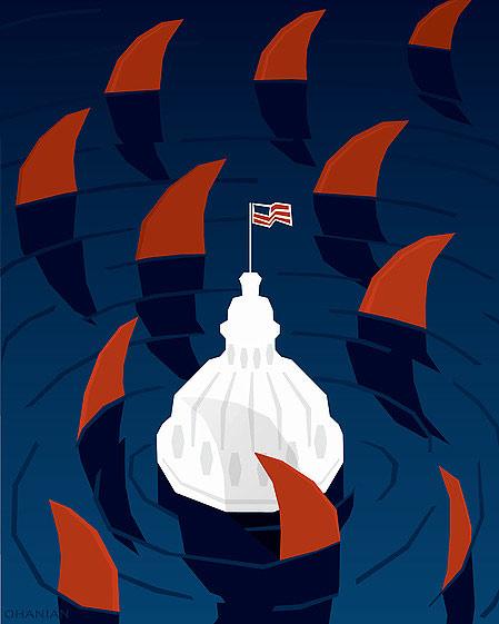 Lobbyists by Nancy Ohanian