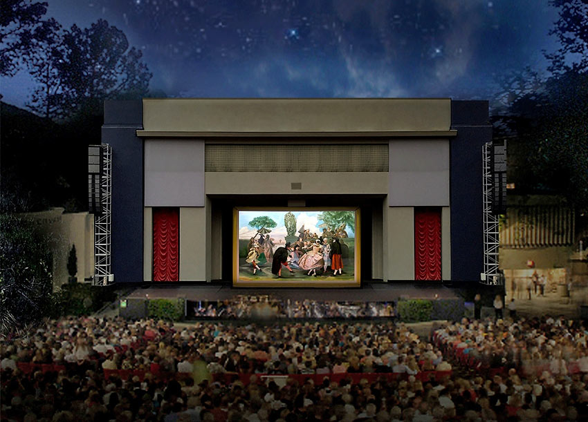 The Pageant of the Masters at the Irvine Bowl