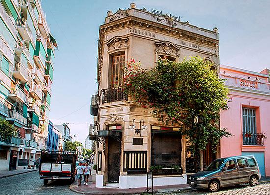 the Vista General San Telmo, Buenos Aires