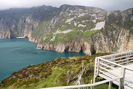 Slieve League Cliffs on the west coast of Donegal
