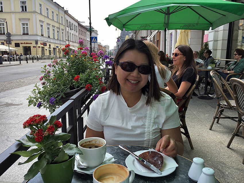 Patty Dale in Moscow