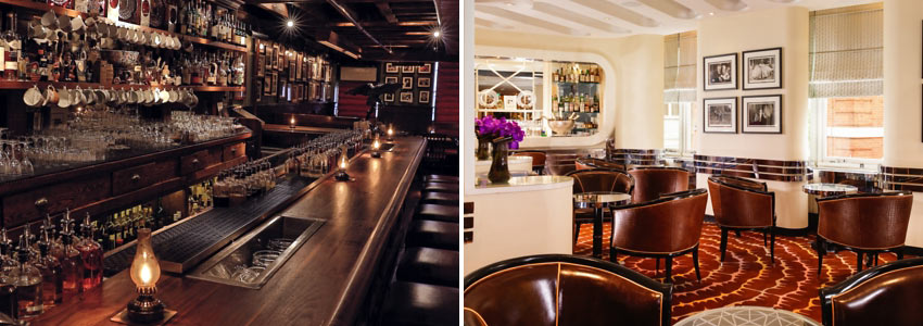 The Dead Rabbit (NY) and the Americana Bar (London)