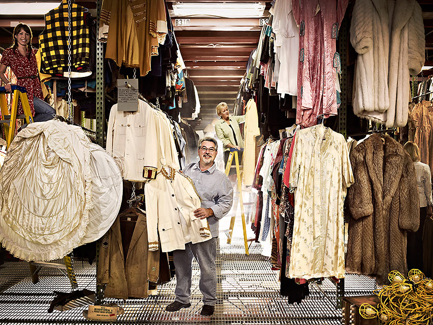 Asolo Theatre costume shop