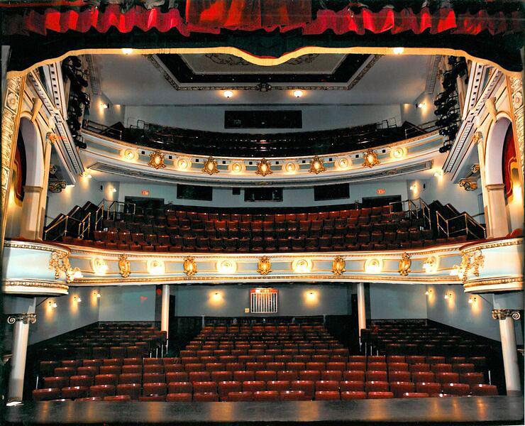 interior of the Asolo Theatre