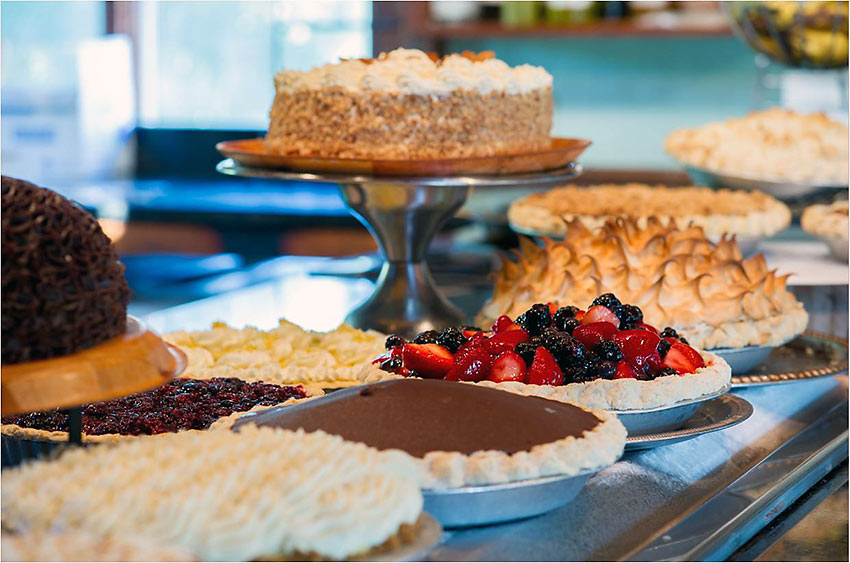 dessert buffet at Euphemia Haye restaurant