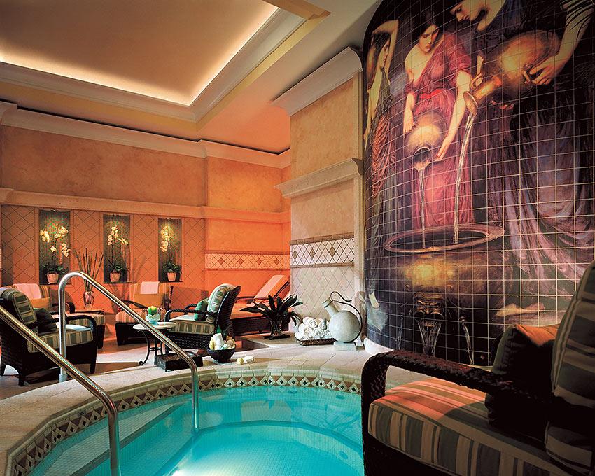 spa waters at the Ritz-Carlton Hotel, Sarasota