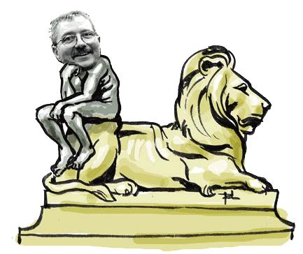 cartoon of Richard