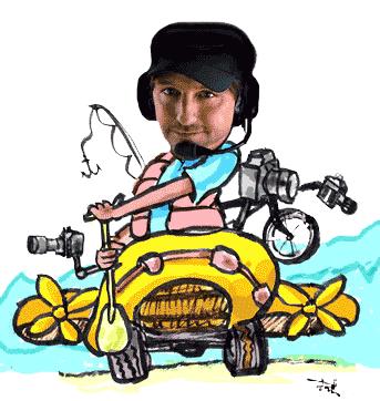 Greg Aragon caricature