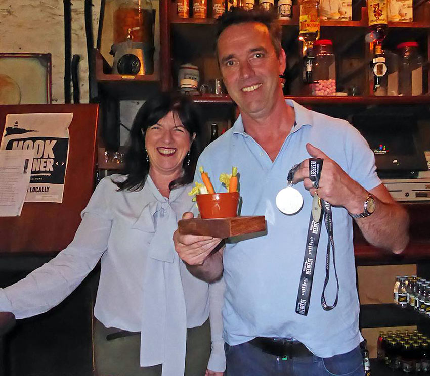 Catherine and renowned Celebrity Master Chef Kevin Dundon, proprietors of Dunbrody Country House Hotel & Restaurant