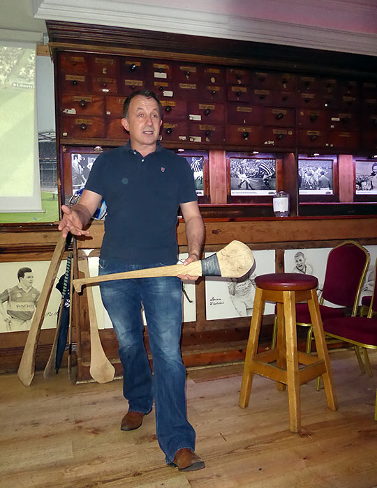 P.J. Lanigan, member of the champion Kilkenny Hurling Club