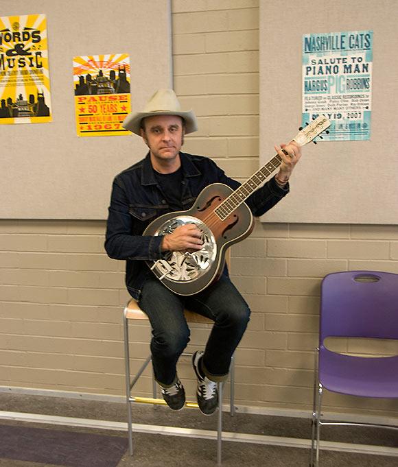 musician in Nashville