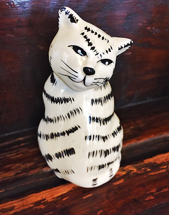 porcelain Cheshire Cat