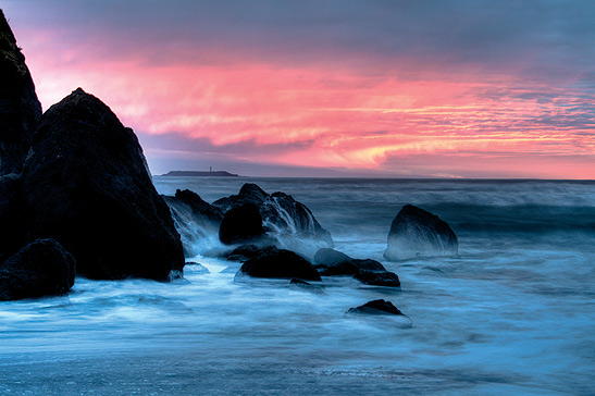 Ruby Beach sunset, Olympic Peninsula