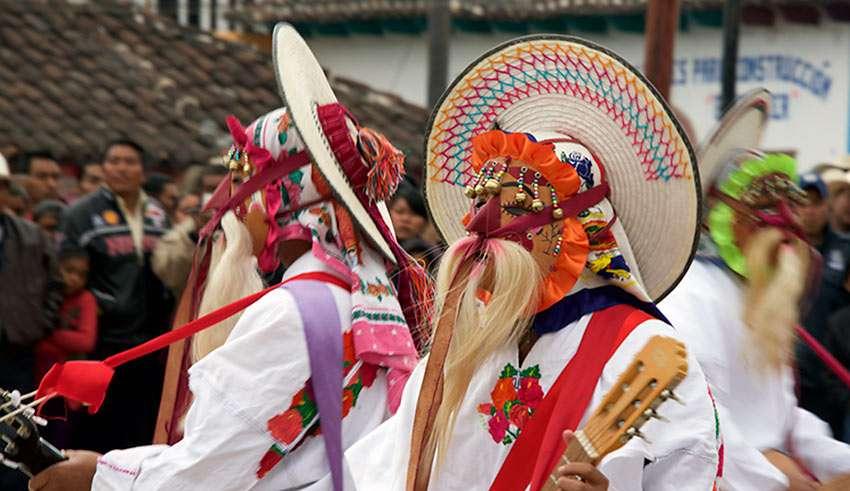 feast day of San Ildefonso in Tenejapa