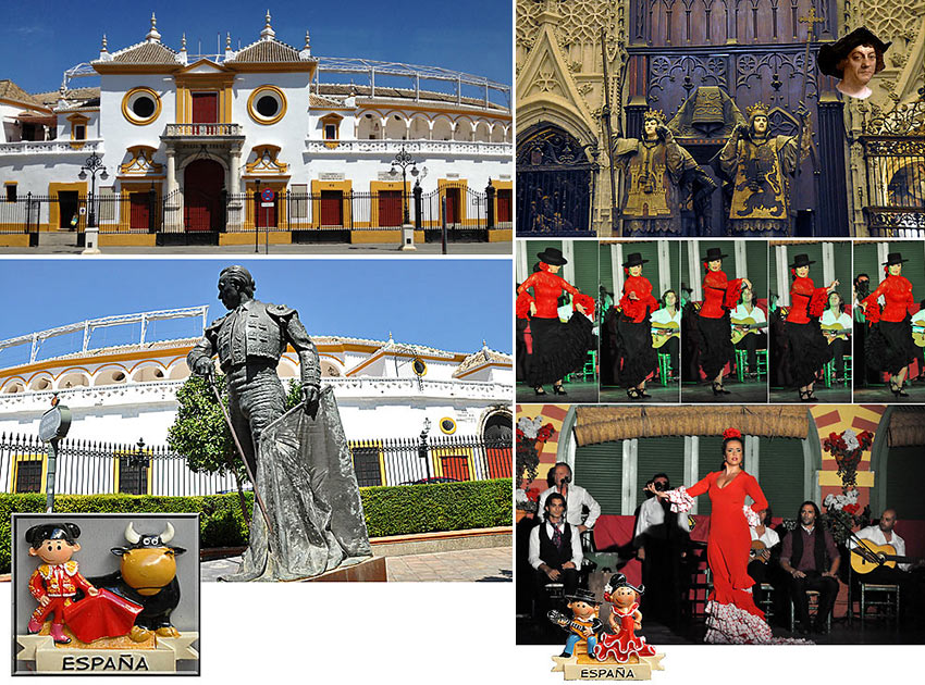 scenes from Seville, Andalusia