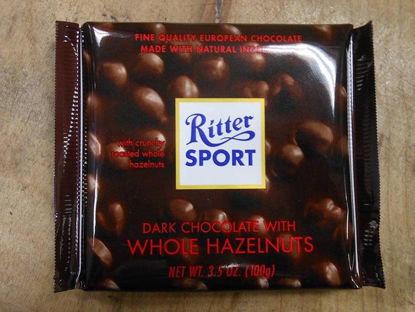 Ritter Sport chocolate bar
