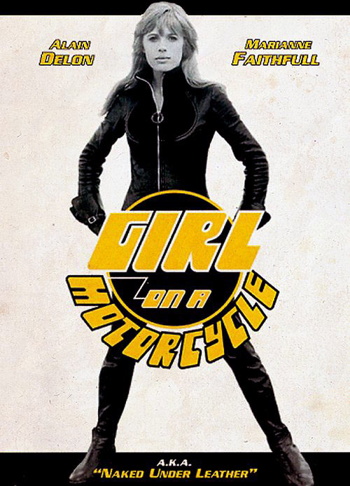 The Girl on a Motorcycle poster