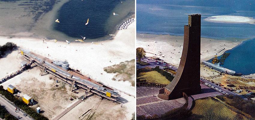 the U-995 in Kiel and the Kiel Memorial