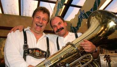 Oktoberfest tuba player