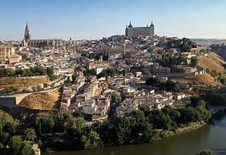 Toledo above the Tagus River