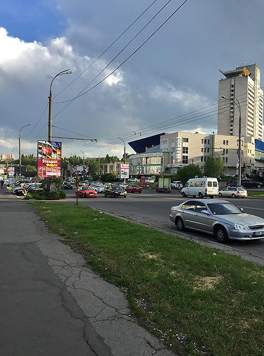 street scene in Chisinau