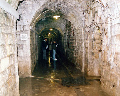 inside Fort Douaumont, Verdun