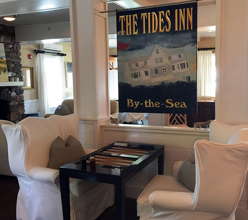 inside the Tides Inn