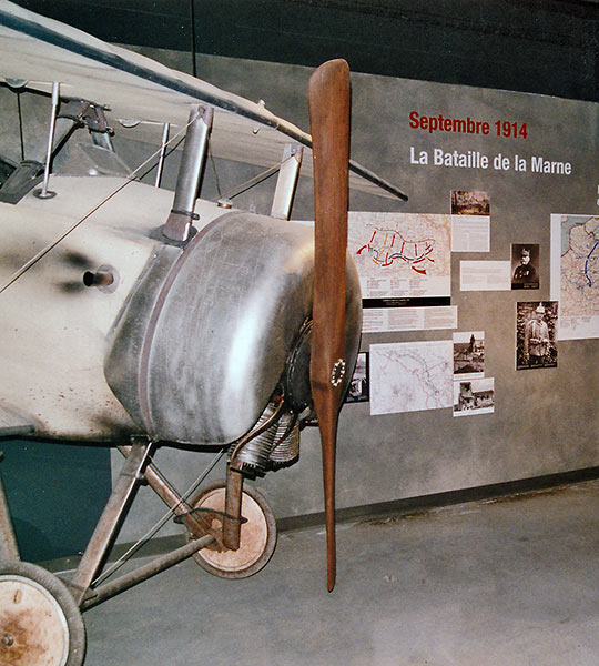 WW1 aircraft at the Interpretive Center